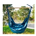 MA681 - Indoor/Outdoor Hanging Cotton Hammock Chair