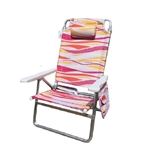 F2022A - Deluxe 5-Position Beach Chair