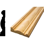 "MA137 - 5/8"" x 2-1/2"" x 14' Pine FJ Casing Moulding - Unfinished"