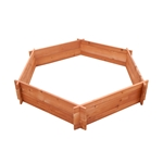 MA556 - Timber Valley Dual Purpose Raised Hexagonal  Garden Bed (Wholesale)