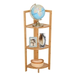 MA332- 3 Tier Bamboo Corner Shelf